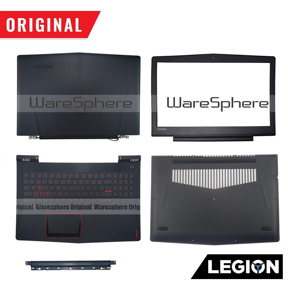 Original para Lenovo Encosto de Plamrest Legion Y520-15ikb R720-15ikb Lcd Volta Moldura Base Inferior sp Eua Rukeyboard Y520 R720 Y520-15 R720-15