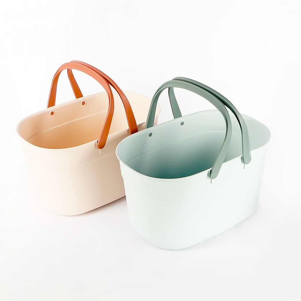Portable Household Sundries Storage Basket fruit bathroom Kitchen Containers basket Cosmetic Containers Organizer