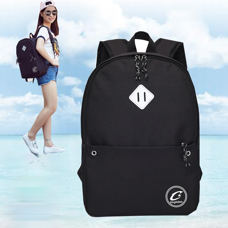 Women Waterproof Oxford Backpack Embroidery Cute College School Bag Girl Kawaii Student Backpack Fas