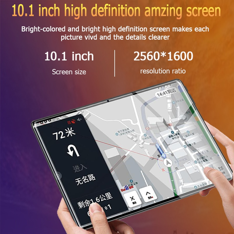 Android 9.0Tablet 10.1 Inch Ten-core Screen Bluetooth 4G WiFi  Network Tablet PC Gifts Dual SIM Dual Cameras Free Shipping enlarge