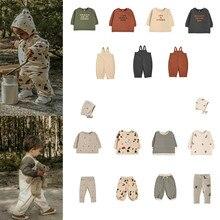 En Stock 2020 Ins chaud bébé sweat automne et hiver Oz infantile Plus velours pull maternelle classe costume coton T-shirt