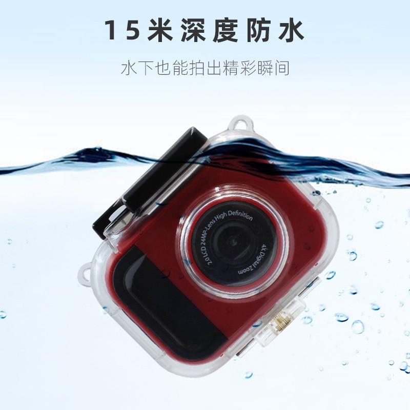 Children's Digital Camera Outdoor HD Handheld DV HD Mini Sports Underwater Waterproof Children's Digital Camera enlarge