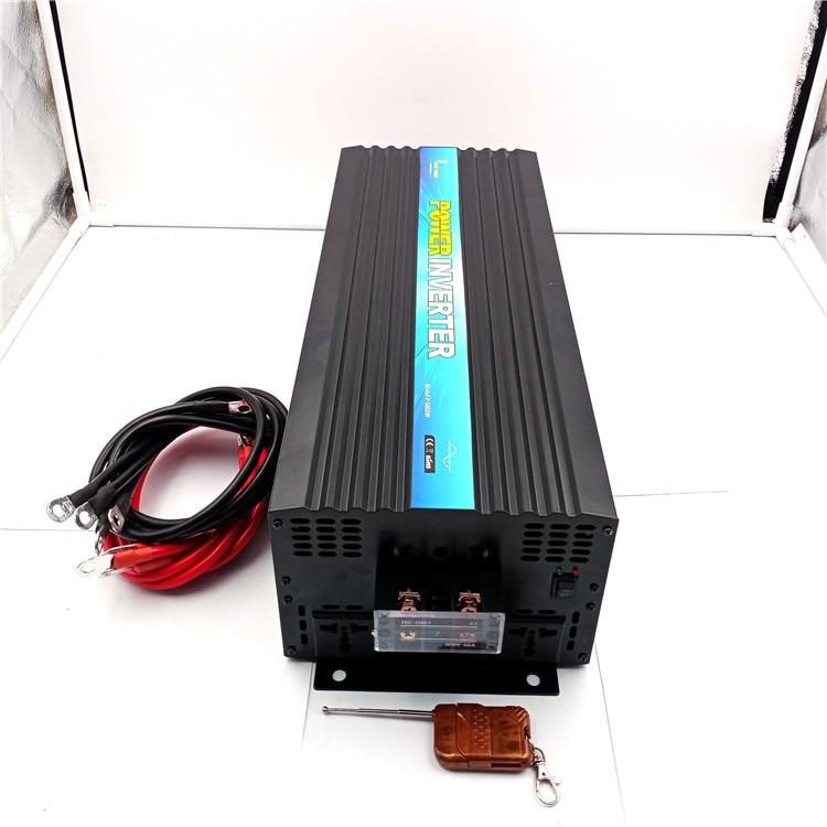Factory sell CE&ROHS approved ,dc 12v/24v/48v to ac 100v-120v/220v-240v 6000w/6kw ,peak 12000w pure sine wave  solar inverter