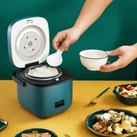 mini electric rice cooker intelligent automatic household kitchen cooker 1 2 people small electric rice cookers free shipping