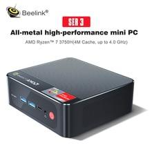 2021 Beelink SER3 AMD Ryzen 7 4800U Windows 10 Pro MINI PC DDR4 16GB RAM 512GB SSD WIFI BT Gaming De