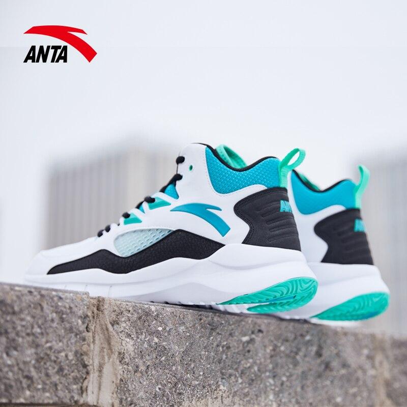 Anta sapatos de basquete botas de alta qualidade masculina 2020 novo estudante primavera kt thompson site oficial 5 sapatos esportivos