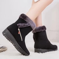 ladies winter snow boots womens shoes slope heels womens boots xl 43 womens ankle boots shoes womens boots 2021 new