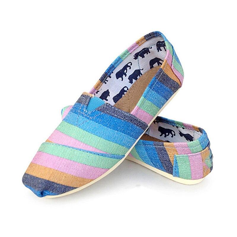 Женские холщовые эспадрильи, повседневные туфли в полоску, классические удобные дышащие туфли на плоской подошве, весна-лето 2021