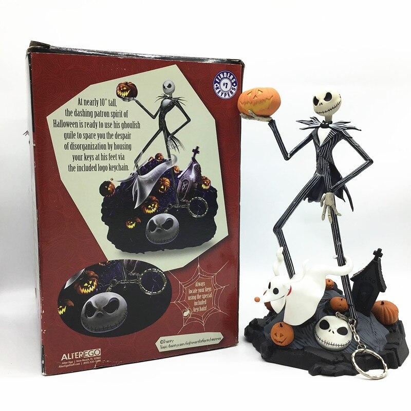 Figura de Jack skeleton de 25cm, figura de animación de la pesadilla antes de Navidad, figuras de acción de Harry Selik, TIMP, Tony Vera, regalos de juguete