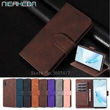 S20 + кожаный флип-чехол для Samsung Galaxy Note 10 9 S20 Ultra S10 S9 S8 Plus A51 A71 A50 A70 A10 A20 A30 S A40 чехол-кошелек с отделением для карт