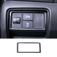 for honda cr v crv 2017 2018 2019 2020 car headlamps adjustment switch cover trim auto stainless steel interior accessories 1pcs