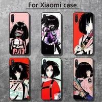 girl vinne art phone cases for xiaomi mi 6 6plus 6x 8 9se 10 pro mix 2 3 2s max2 note 10 lite pocophone f1