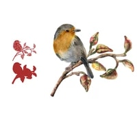 christmas song bird metal cutting dies scrapbook diary decoration stencil embossing template diy greeting card handmade 2021 new