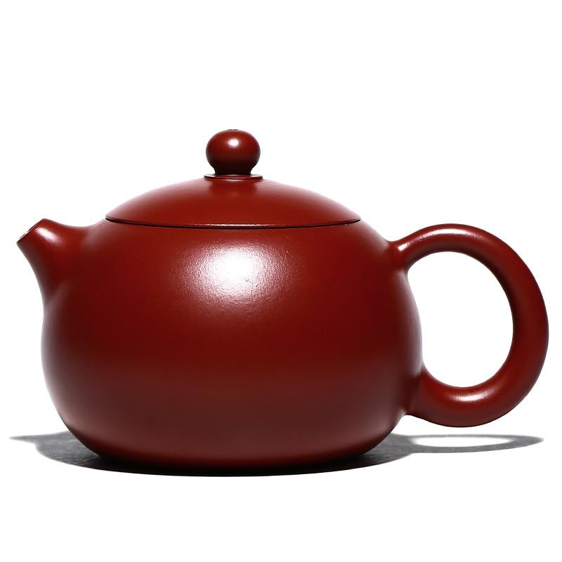 ييشينغ بوربلي كلاي الشاي إبريق الشاي الصينية Zisha الأواني الطين ، درينكوير ، الشاي ، دعوى ل شاي أخضر ، أسود ، الظلام ، ديكور المنزل