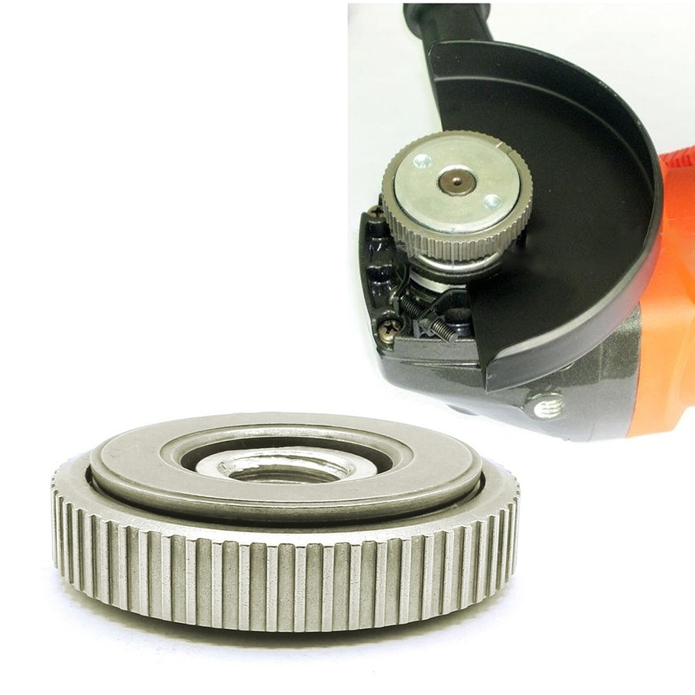 Filettatura M14 115mm / 125mm smerigliatrice angolare interna flangia esterna set di dadi strumenti, sostituzione per Bosch, Metabo, Makita