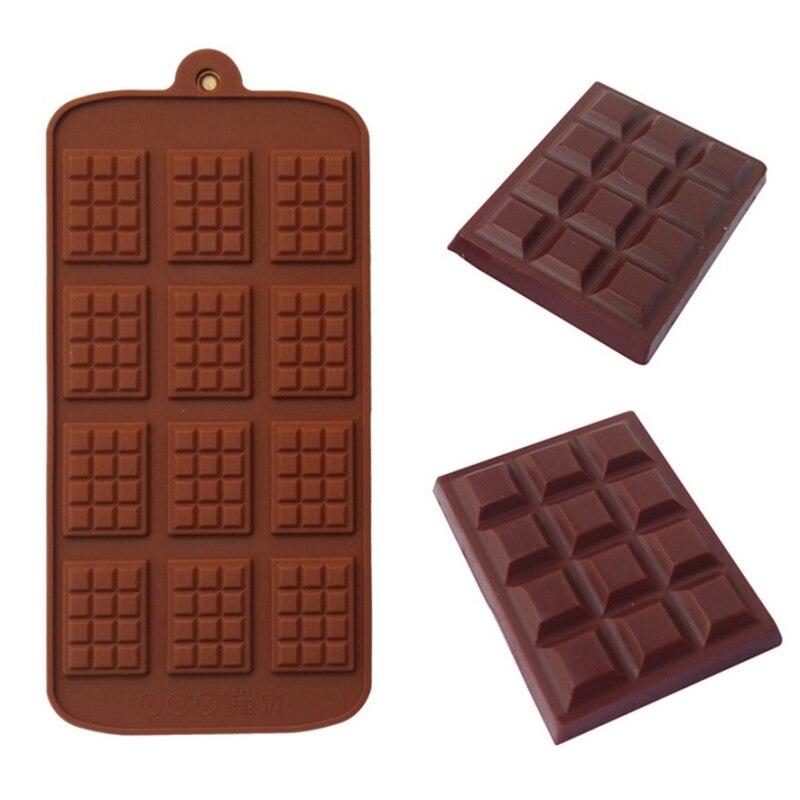 12 Even DIY Chocolate Chip Mold Waffle Pudding Baking Tool Cake Decoration Bakeware Cake Tools