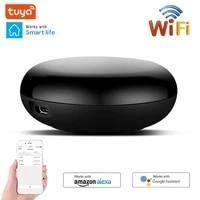 Telecommande sans fil a infrarouge intelligente  controleur IR  via lapplication Smart Life Tuya  fonctionne avec Alexa Google Home et dautres dispositifs