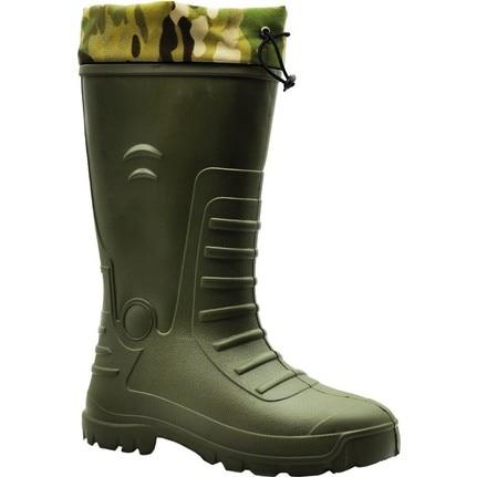 Bottes de chasse en caoutchouc de 32 cm de Long (avec chaussettes thermiques amovibles)-isolation chaudesisolation à froid imperméabilissemelle absorbante aux chocs