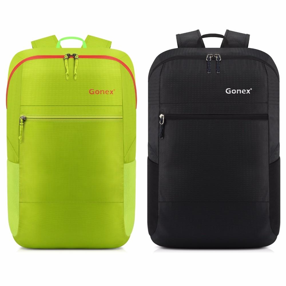 Gonex 30L ultralekki pakowny plecak na co dzień nylonowa składana torba na ramię na zewnątrz podróży Camping szkoła zakupy