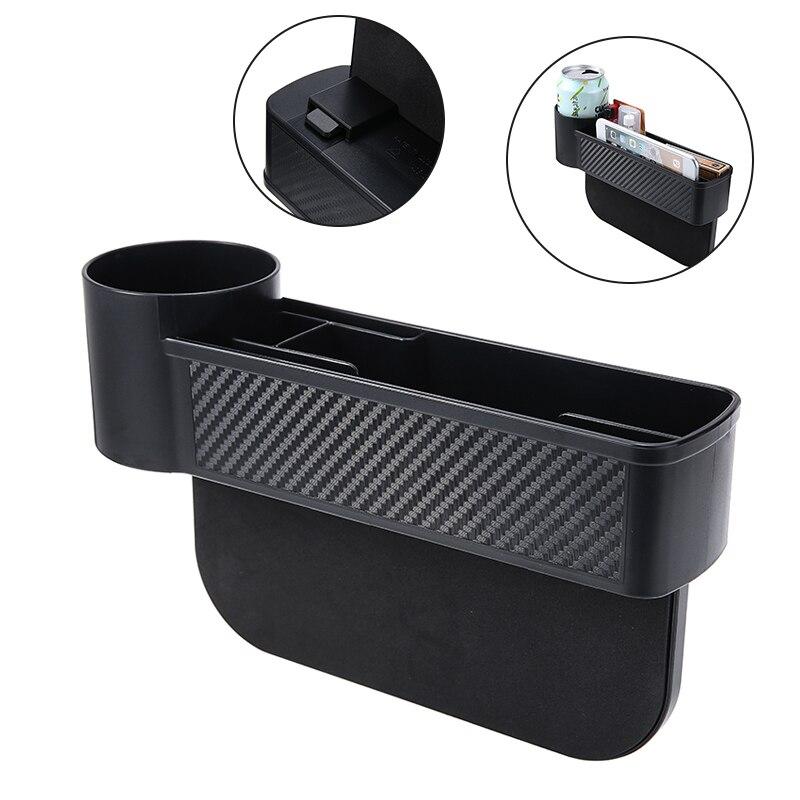Mayitr-caja de almacenamiento para hueco de asiento de coche, organizador para vaso...
