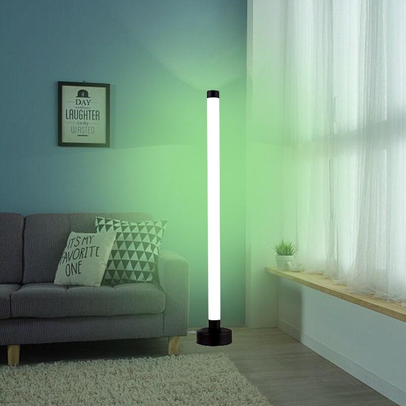 Цвет меняющийся светодиодный Угловой торшеры симфония настольная лампа со вставными стоячая лампа угол светильник напольный светильник д...