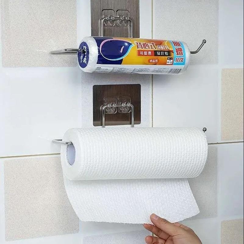 Кухонный держатель для туалетной бумаги, держатель для салфеток, подвесной держатель для туалетной бумаги в ванную комнату, держатель для р...
