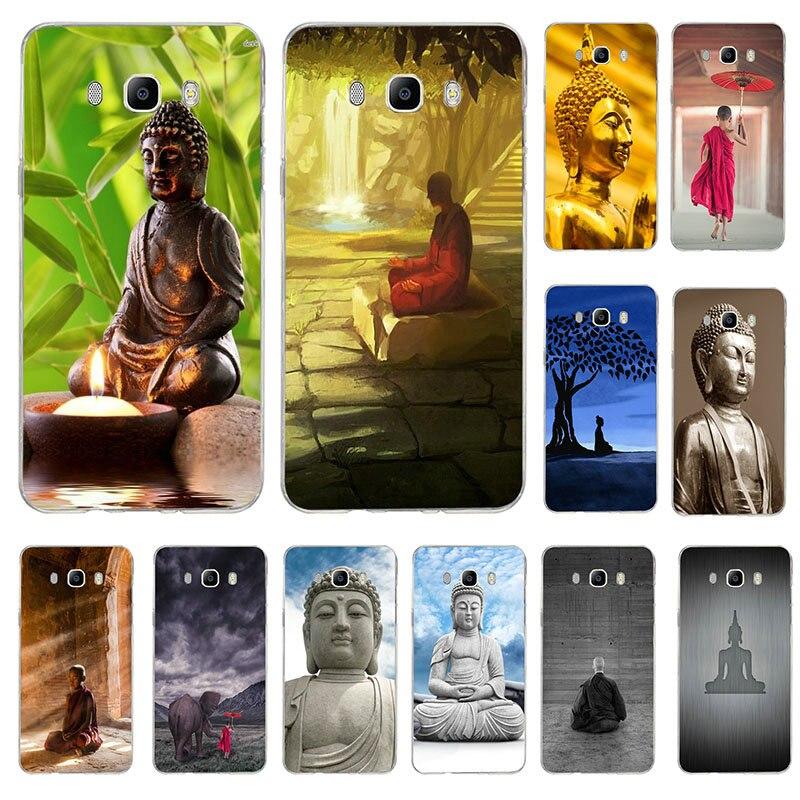 Teléfono TPU suave para Samsung Galaxy nota 2 3 4 5 8 9 10 A10 A20 A30 A40 A50 A60 A70 A80 A90 M10 M20 M30 Buda Zen estilo de arte
