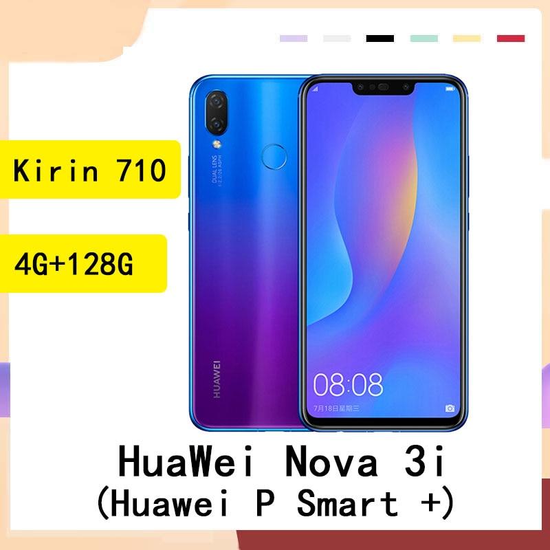 HuaWei P smart+ / Huawei NOVA 3i smartphone 24.0MP 4 Cameras 4GB RAM 128GB ROM Kirin 710 Android 8.1
