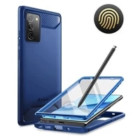for samsung galaxy note 20 case 6 7 2020 clayco xenon full body rugged case with fingerprint id built in screen protector