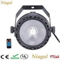 Wireless Remote Control RGB+UV 30W COB Light LED Par COB Lighting DMX Control Stage Wash Effect Lighting Professional For Party