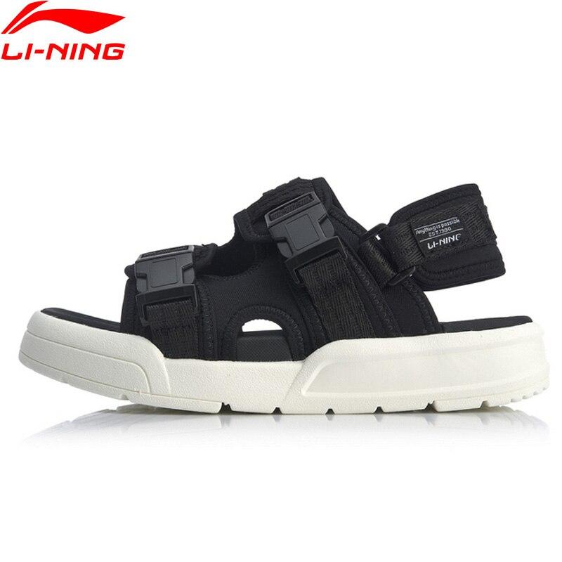 Li-Ning Women COCA Stylish Slippers LiNing li ning Sports Shoes Breathable Light Sandals Leisure Outdoors Sandal AGUQ002