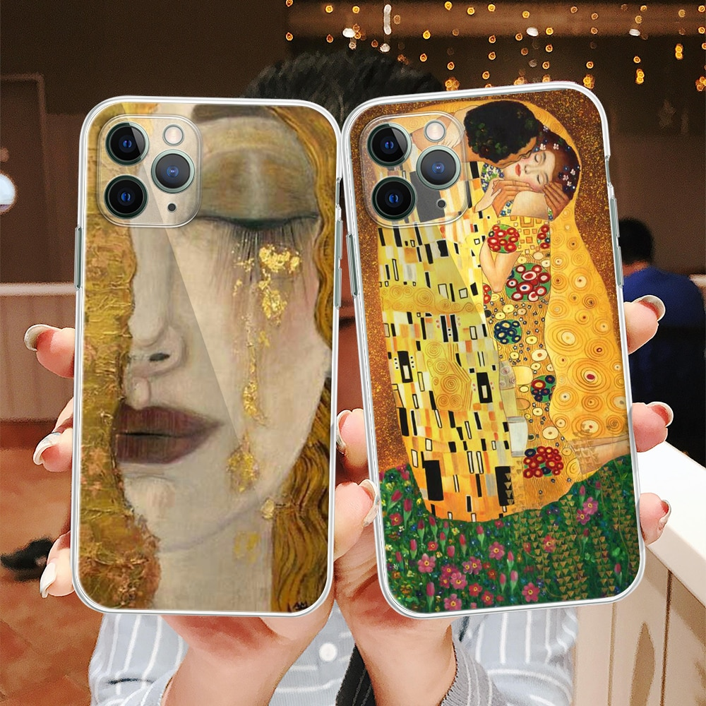 Fashion oil painting Van Gogh phone case For Apple iphone 12 11 Pro X XS Max Xr 8 7 6 6s Plus 5 5S S