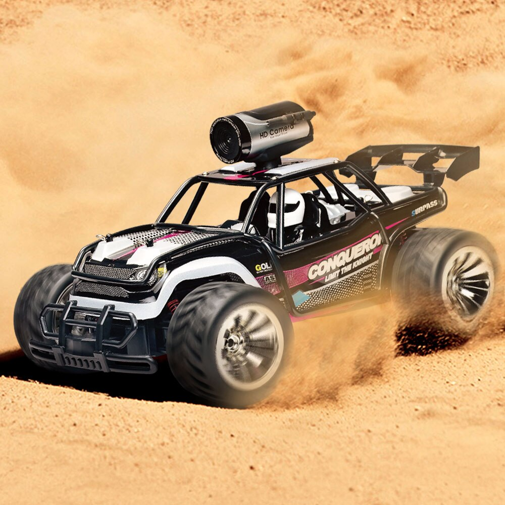1:16 Electric 2.4G RC Car Rock Crawler Remote Control Toy Cars 25km/h On The Radio with Camera Controlled Drive Off-Road rc Toys enlarge