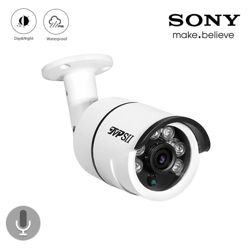 4pcs A Lot Six Array Leds 8mp 4K/5mp/4mp/2mp Outdoor IP66 Audio Waterproof Surveillance Security CCTV AHD Camera