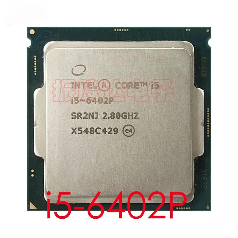 Intel Core i5 6402P CPU 2.8GHz L3-6MB 4 Core 4 Thread LGA 1151 i5-6402P CPU Processor