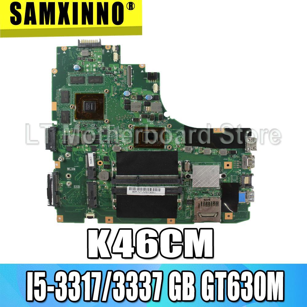 K46CM اللوحة الأم I5-3317/3337 GT630M 2GB ل For Asus K46C K46CM K46CB اللوحة الأم K46CM اللوحة الرئيسية K46CM اللوحة اختبار موافق