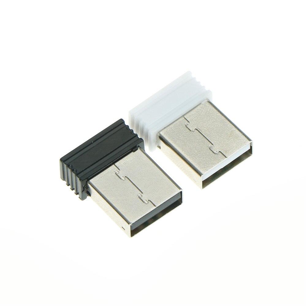 Беспроводной приемник-ключ, соединяющий 2,4G беспроводной адаптер для мыши и клавиатуры, беспроводной usb-приемник для портативных ПК 2*1,4 см