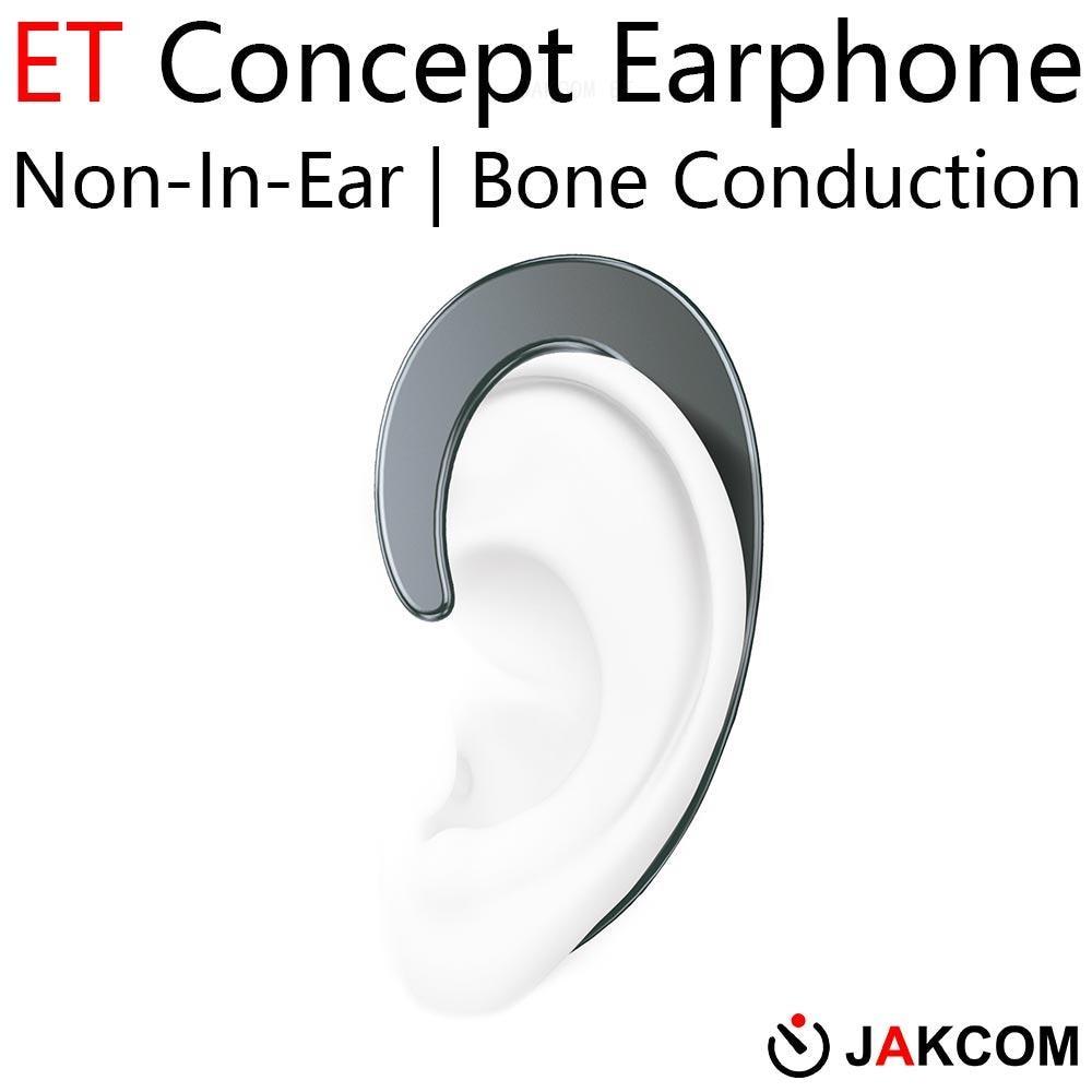 Auriculares JAKCOM ET sin oído concepto mejor que cubierta pro collar mmcx cable auriculares my melody tipo c auricular