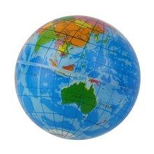 خريطة العالم رغوة كرة أرضية الإجهاد الإغاثة كرة نطاطة أطلس لعبة الجغرافيا TH092 جديد حار!
