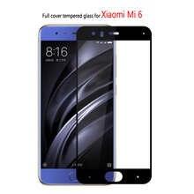 3d закаленное стекло для Xiaomi Mi6, защита экрана, закаленное стекло для Xiaomi Mi 6, защитная пленка, очки, полная проклейка, чехол для дисплея