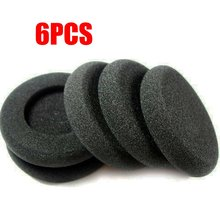 6 pièces/lot coussinets doreille de remplacement coussinets en mousse souple coussin/pour Koss pARA Porta Pro PP PX100 casque