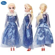 2019 Disney Frozen 2 jouet poupée reine des neiges princesse jouets Elsa Olaf Action Figure Anna jouets enfants fille anniversaire cadeau de noël