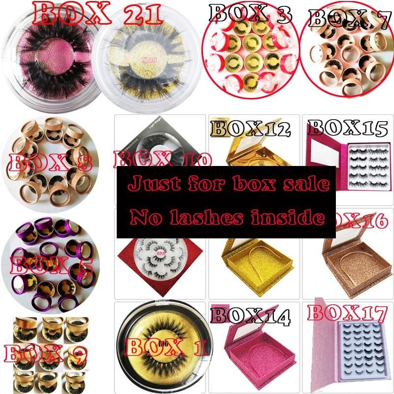 Custom label package Eyelashes box,no lashes inside custom personal label round box for sale kklashes