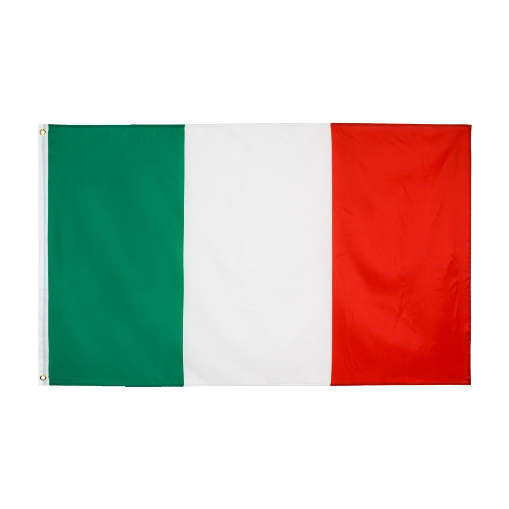 90x150cm verde branco vermelho itália bandeira italiana