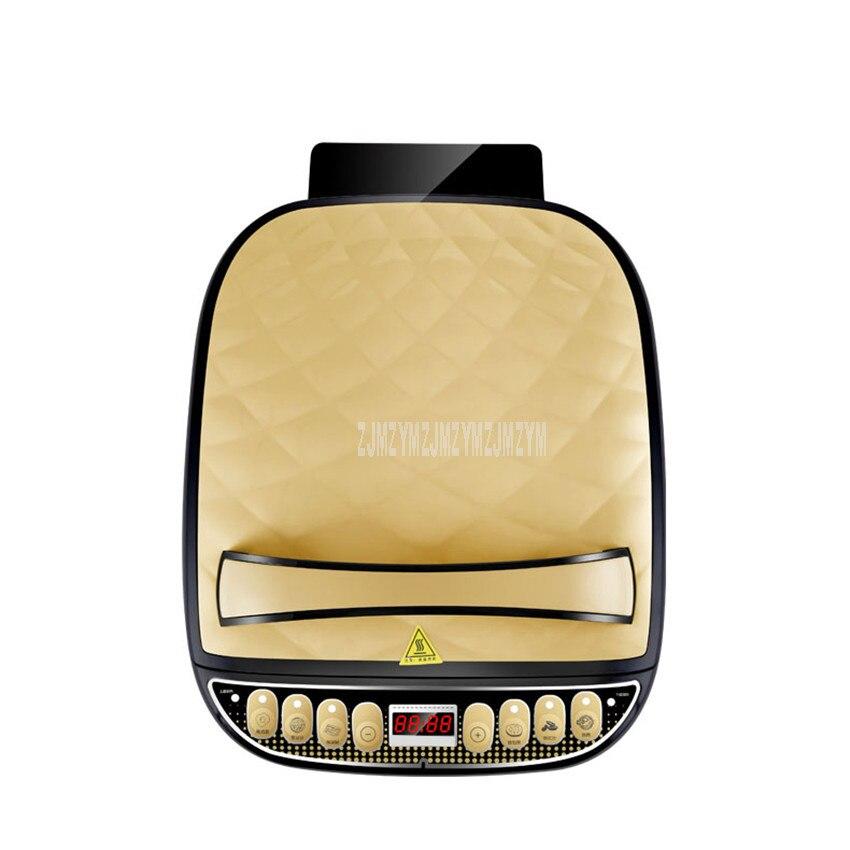 المنزلية الكهربائية مقلاة غير عصا فطيرة صانع الخبز عموم المزدوج الجانب التدفئة اللحوم شريحة لحم الخبز القلي آلة RSD-B3266