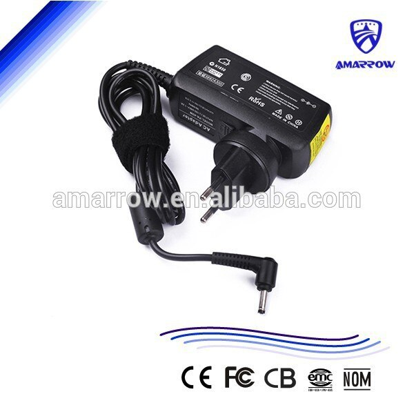 Portátil cargador adaptador para Acer Aspire uno W10-040N1A A150 W500 S5 D255...