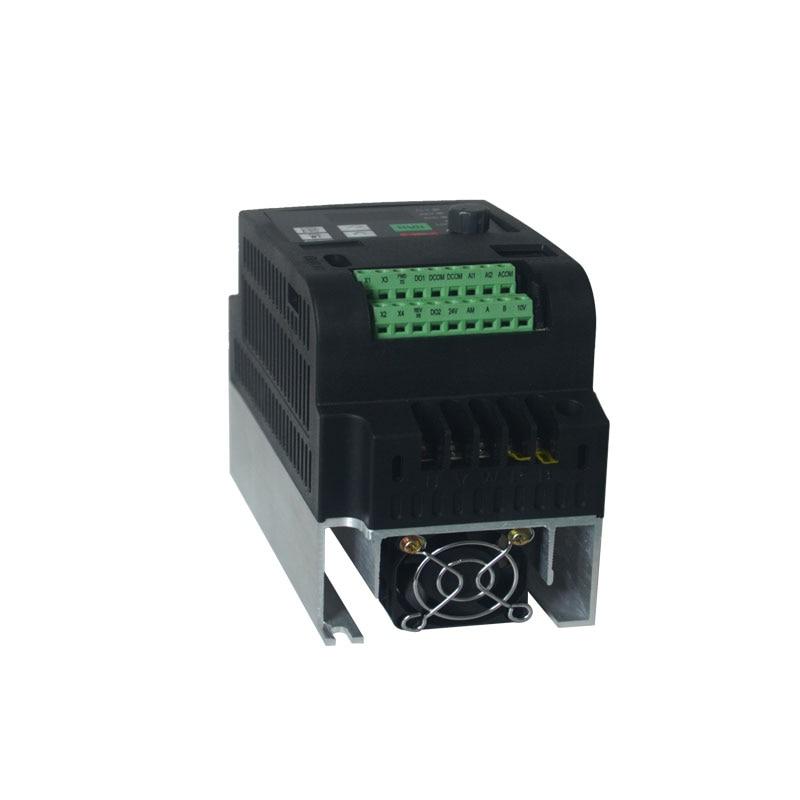 Frequency inverter 220v to 380v 400V 2.2kw VFD Variable Frequency inverter control Variable Frequency Drive VFD 3 phase output
