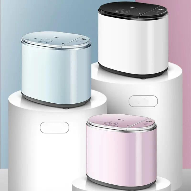 JRM0017 Portable Mini Washing Machine Automatic High Temperature Boiling Washing Sterilization Baby Underwear Lavadora Portatil