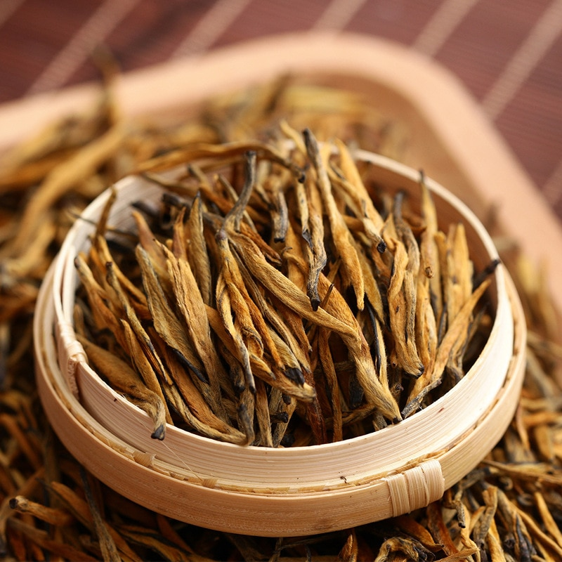 5A ديان هونغ الشاي الأسود يوننان ديانهونغ ماوفينج الشاي الأحمر 250g