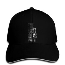 Baseball Cap Men The Last Of Us Part 2 Vengeful Ellie (black white) Unisex Printed top Snapback hat peaked